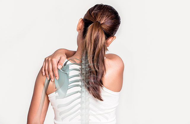 Shoulder pain may be caused by joint dysfunction and helped by Chiropractic