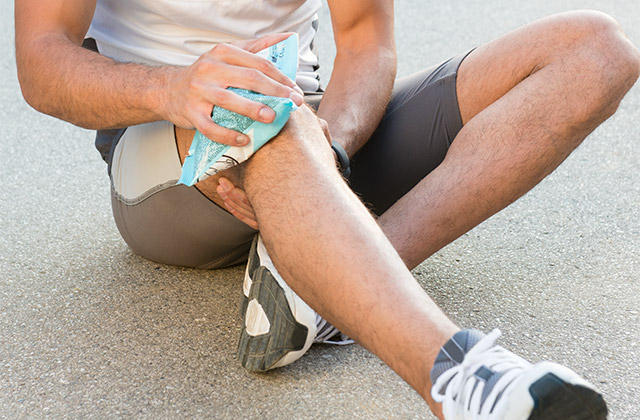 Relief from knee pain