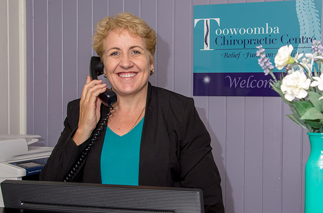 Make a Chiropractic appointment at Toowoomba Chiropractic Centre, 13 Cohoe Street Toowoomba